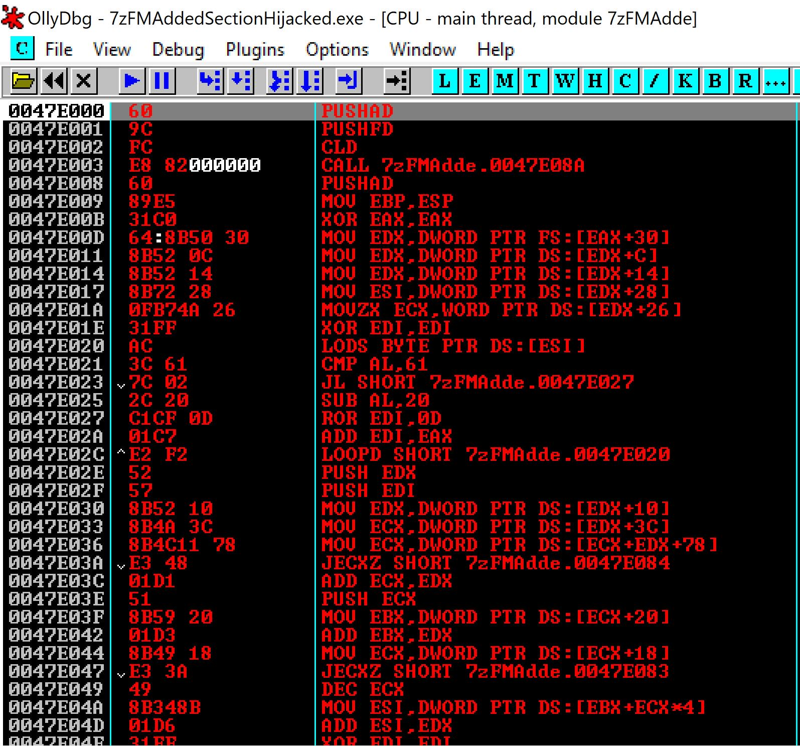 Backdoor PE to fully undetectable binary