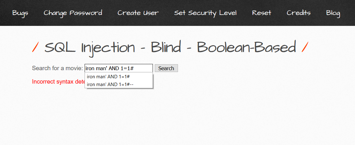 - Boolean Based Blind SQL Injection  How to do manually 2 - Boolean Based Blind SQL Injection on MySQL : How to Do Manually