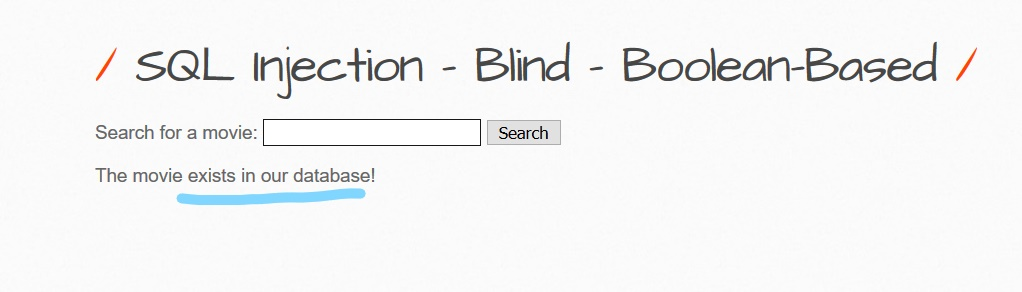 - Boolean Based Blind SQL Injection  How to do manually 3 - Boolean Based Blind SQL Injection on MySQL : How to Do Manually