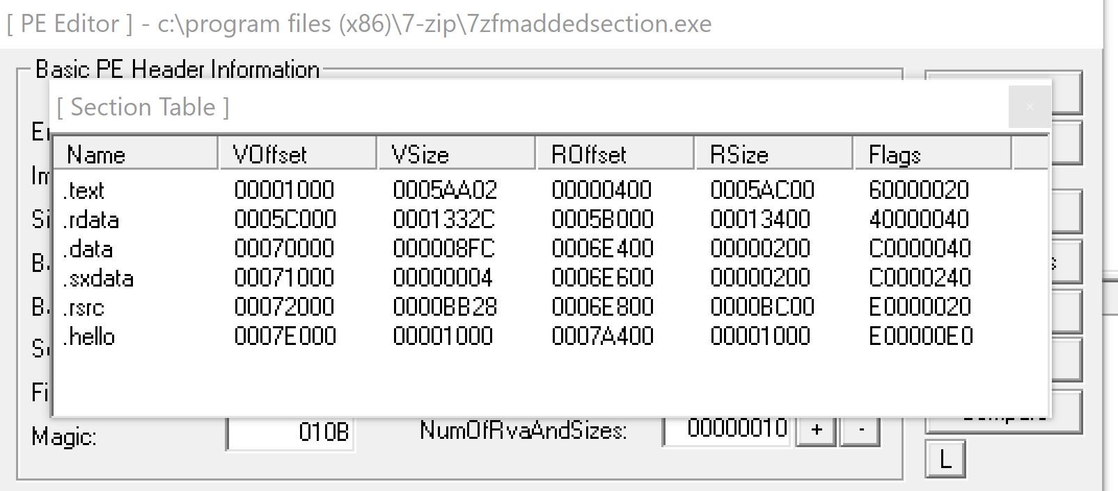Fully Undetectable Backdooring of Portable Executable (PE) file