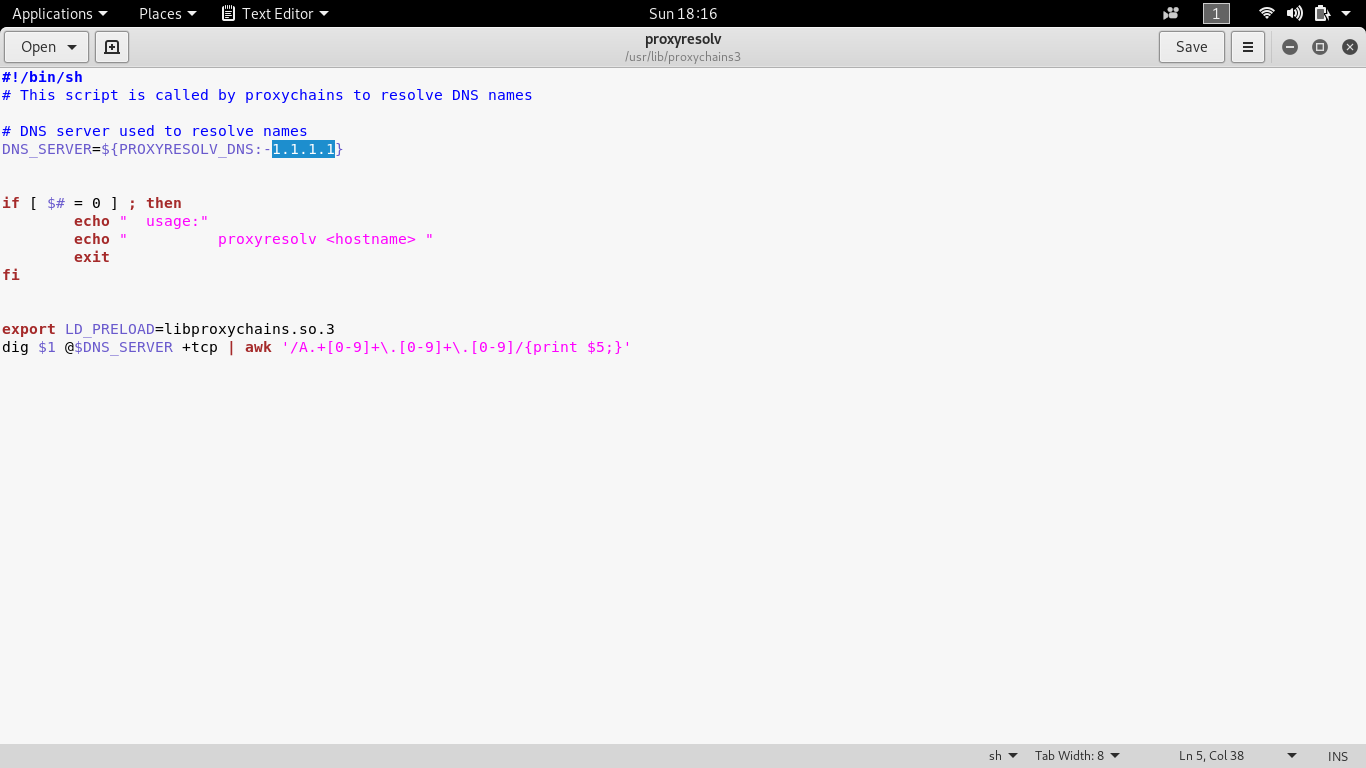 I am using here Cloudflare 1.1.1.1 DNS Resolver