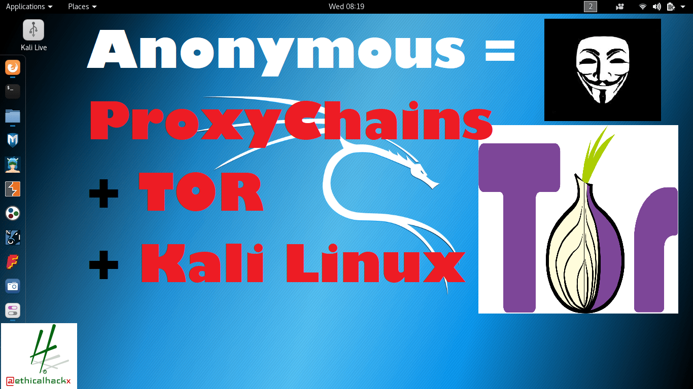 ProxyChains + TOR + Kali Linux : Complete Guide to be