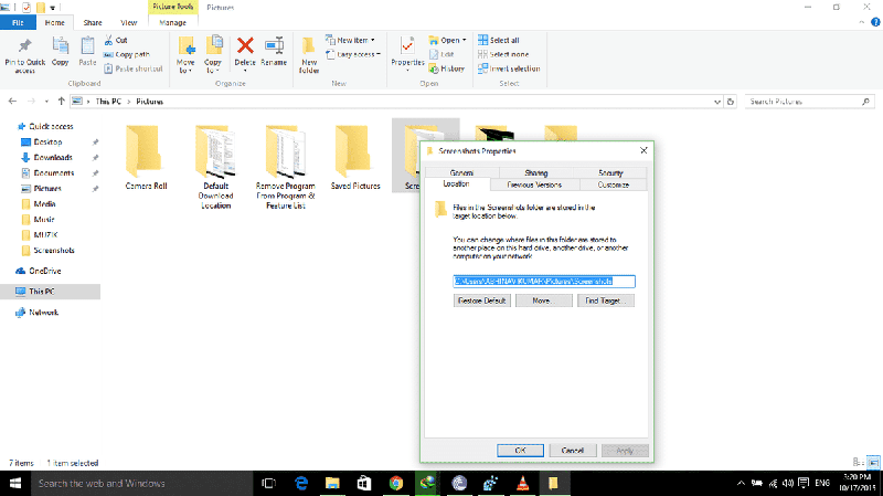 ScreenShot Folder Location (2)