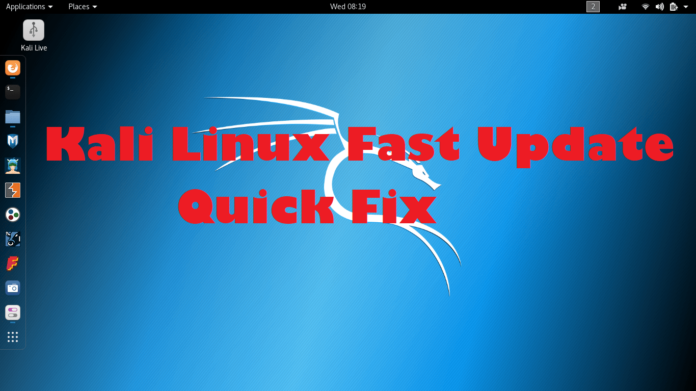 - akli linux slow update fix 696x391 - Fix Kali Linux Slow Update to make it Very Fast