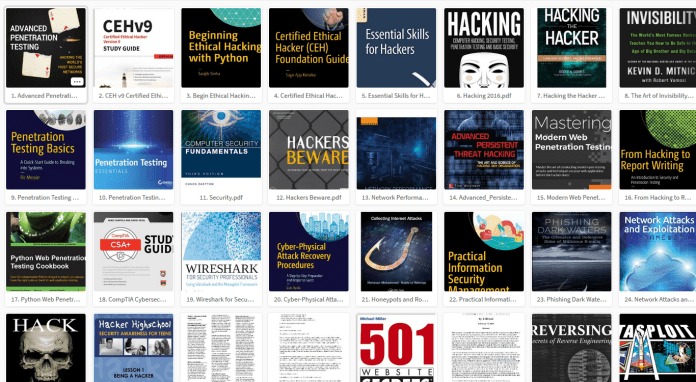 - hacking books 2018 - Download 100 Free Hacking Book Collection 2018